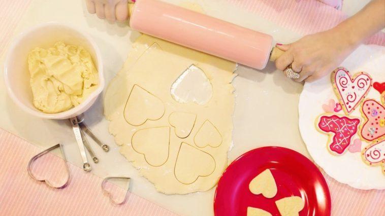 Raw cake batter